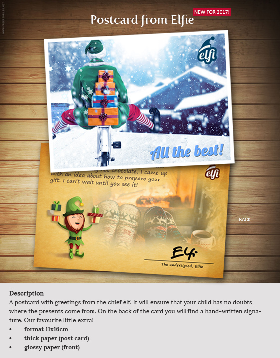 Letter from santa a personalised santa letter just for you stop were waiting santa sticker spiritdancerdesigns Gallery