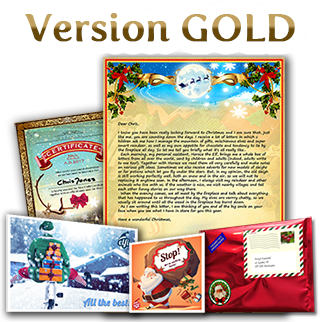 contents of gold letter